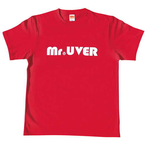 Mr.UVER Tシャツ